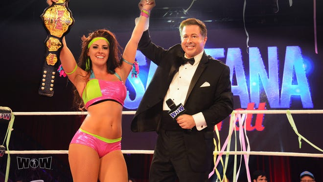 Indianapolis native David McLane founded the Gorgeous Ladies of Wrestling in 1986 and the Women of Wrestling in 2000.