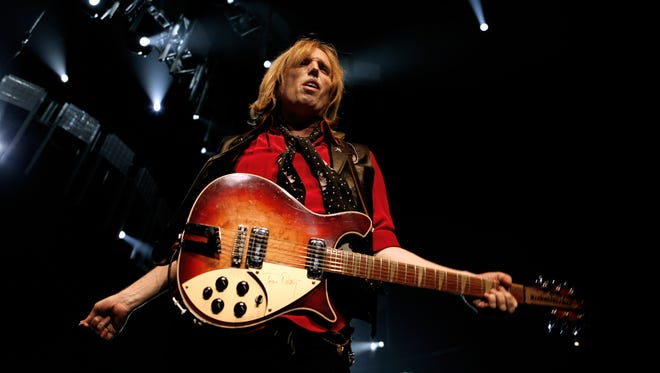 Tom Petty and The Heartbreakers perform at Madison Square Garden in 2006.