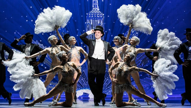 """Nick Spangler and the """"An American in Paris"""" touring company."""