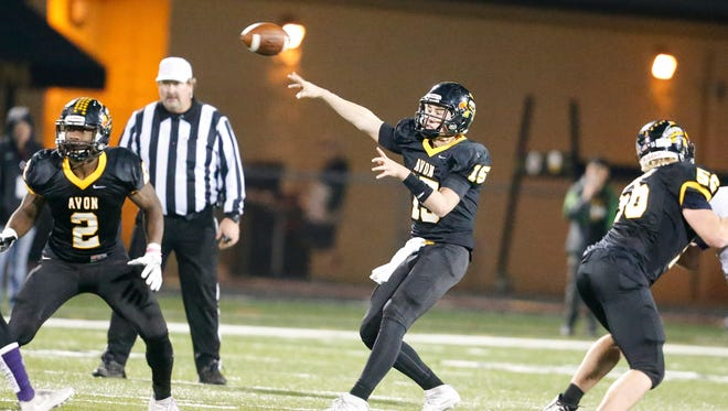 Avon's Cameron Misner led his team to a 47-26 victory over Brownsburg on Friday. The victory gave Avon the sectional title.