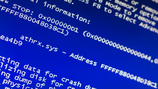 """The dreaded """"blue screen of death"""" essentially is Windows telling you that it has detected a serious problem that makes using the operating system too unstable,"""