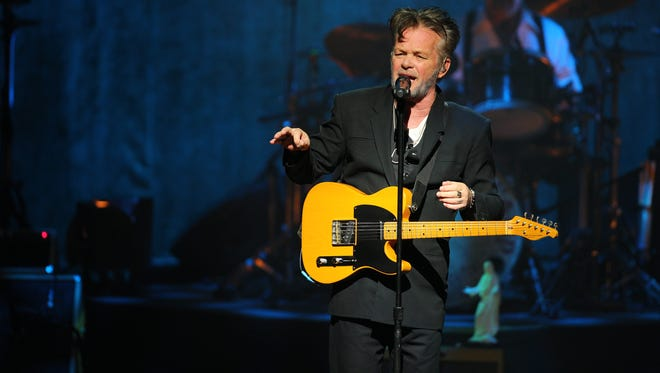 "John Mellencamp made a politically charged appearance on the Feb. 1, 2018, episode of ""Late Show with Stephen Colbert."""
