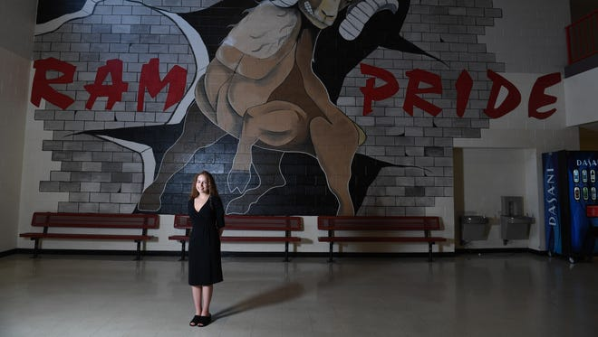 Cierra Oliveira is pictured at Hillcrest High School on Tuesday, June 5, 2018.