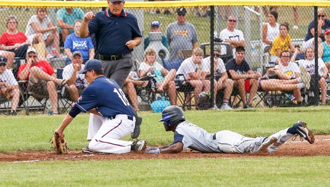 University beat Tecumseh 7-4 in Class A semistate action at Plainfield on Saturday.