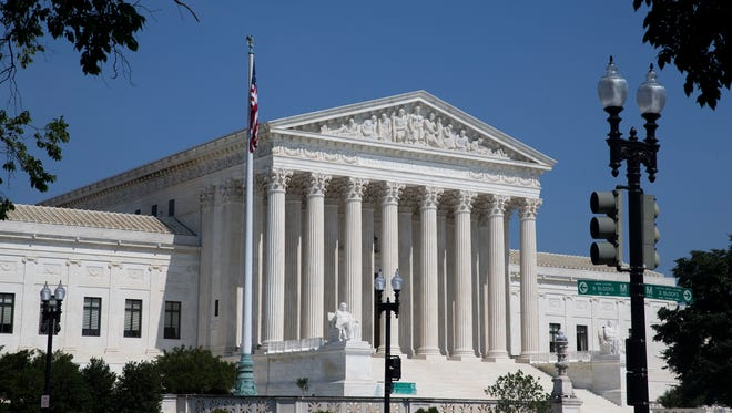 Three Supreme Court justices reduced stock holdings in 2017 that can lead to forced recusals from cases.