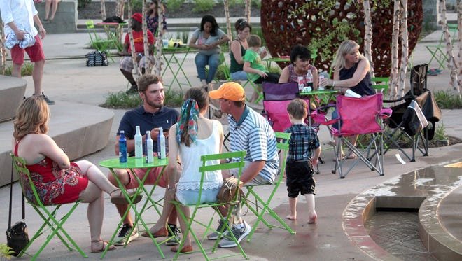 The Downtown @ Sundown Concert Series and Street Fair at Downtown Commons on Friday, June 15.