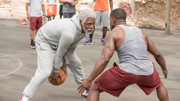 Kyrie Irving stars as an old streetball legend who