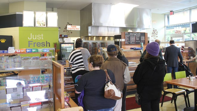 Falafel King's new location opened Nov. 5 at Courthouse Square, 555 Court St NE.