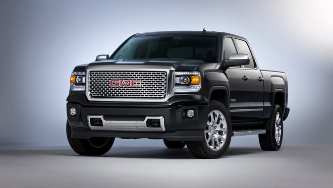The high-profit, 2014 GMC Sierra Denali Crew Cab is among the money-makers that investors hope will help make for a strong third-quarter earnings report Thursday morning.