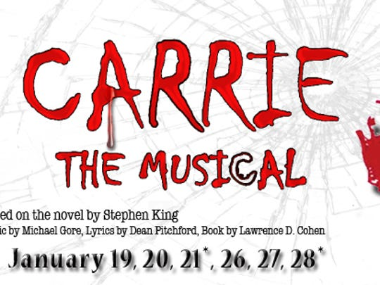 """Carrie the Musical"" is opening Friday at Civic Theatre."