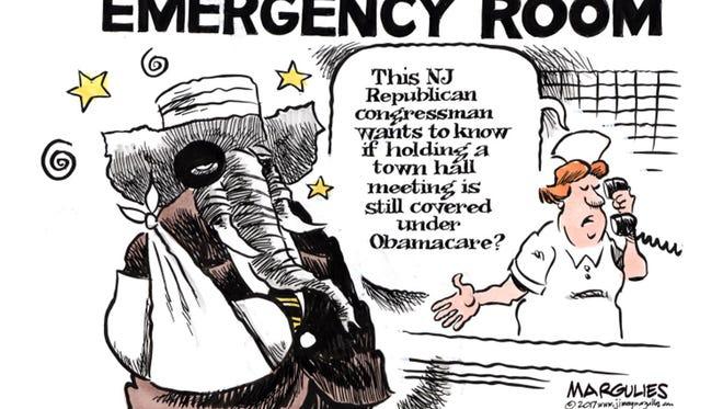 Jimmy Margulies cartoon for Feb. 26, 2017