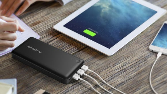 This massive USB battery backup can charge your phone