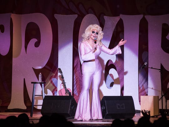 "Trixie Mattel, the winner of ""RuPaul's Drag Race All Stars"" and a UW-Milwaukee graduate, played a homecoming show at a sold-out Turner Hall Ballroom Wednesday."