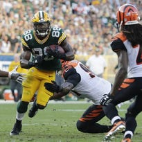 Analysis: Packers need more support for Ty Montgomery in run game