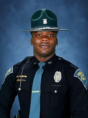 Per Sgt. John Perrine, the trooper, identified as Ronneal Williams, was struck outside his car while on a traffic stop near mile marker four on I-865 EB. He's alert and conscious but in very serious condition at St. Vincent's Hospital.