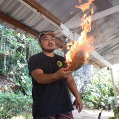 Lina'la' Chamoru: Fire making sparks interest in Chamoru culture