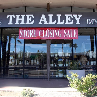 The Alley department store in downtown Palm Springs