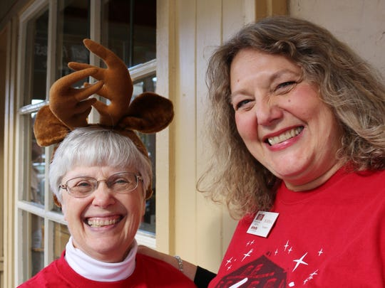 Amy Vandergrift, left, and Norma Gekakis of the Willamette Heritage Center, are eager to share details about the 16th annual Magic at the Mill.