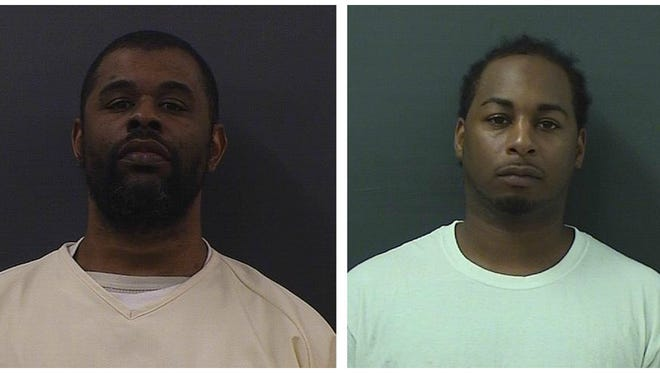 KeAnthony Dillard, left, and George Humphrey are charged with first-degree murder in the shooting death of 23-year-old Rameon Wilson in April 2013.