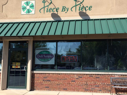 Piece by Piece is an Appleton quilting shop that will close June 30 with the retirement of its owners.