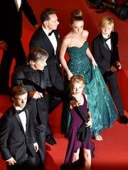 Viggo Mortensen walks the Cannes Film Festival red