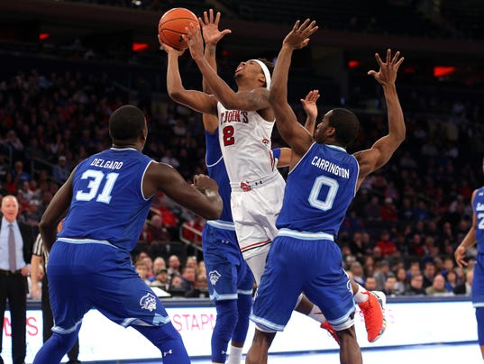 NCAA Basketball: Seton Hall at St. John