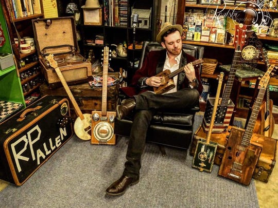 Dylan Allen plays a mix of covers peppered with original work. He'll play July 14 at theSwamp Stomp