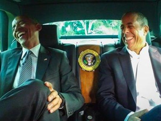 Barack Obama, Jerry Seinfeld