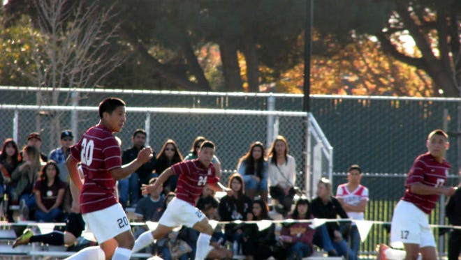 The Hartnell College men's soccer team opens its season Aug. 29.