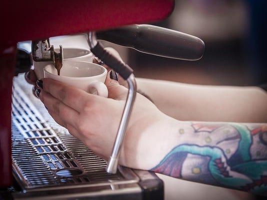 Caffeinery arms coffee