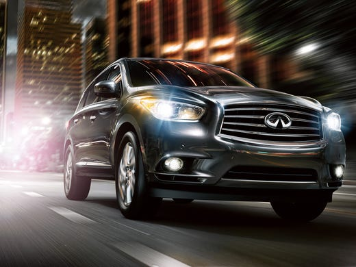 Infiniti Added A Hybrid Train To Its 2017 Qx60 Crossover Suv As 3 000 Option