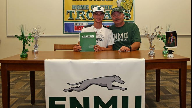 Mayfield's Ryan Cox signed to compete in track and field at Eastern New Mexico University.