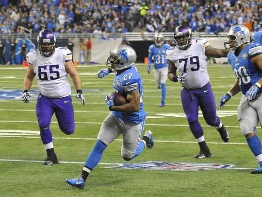Lions safety Glover Quin led the NFL last season with seven interceptions and was named to the Pro Bowl.