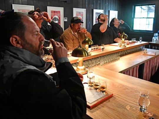 Exports to some key overseas markets gyrated wildly last year for producers of bourbon, Tennessee whiskey and rye whiskey.