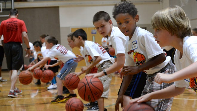 Local sports ministry Crossfire is holding its annual basketball camps this summer.