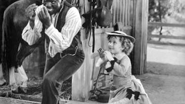 Bill Robinson and Shirley Temple in