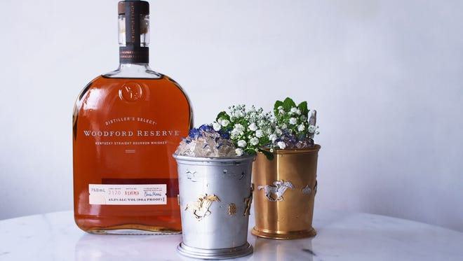 Woodford Reserve unveiled in $1,000 and $2,500 Mint Julep Cup experience Monday.