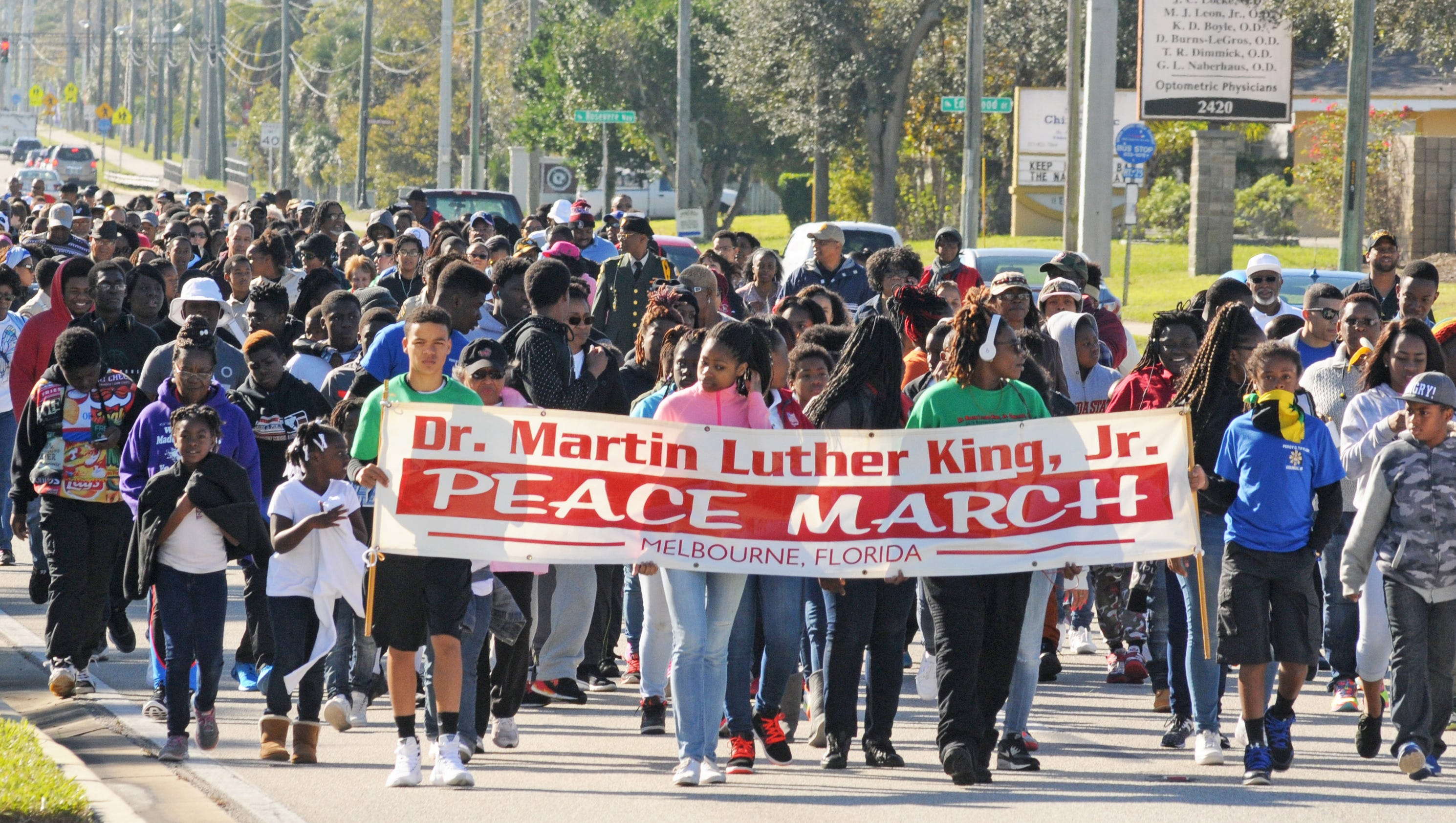 Photos: the MLK Peace March in MelbourneMarch For Peace