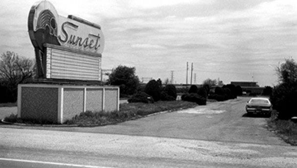 The Sunset Drive-In opened in 1950 and had its final season in 1983.