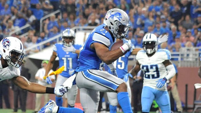Lions running back Ameer Abdullah has been placed on injured reserve after having surgery.