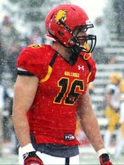 Novi's Brady Sheldon showed his NFL potential during his days at Ferris State.