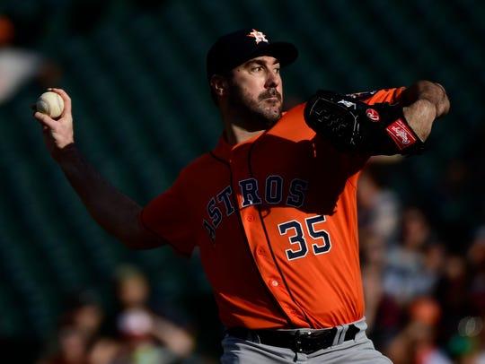 Sept. 29: Justin Verlander, Astros, 10 vs. Orioles.