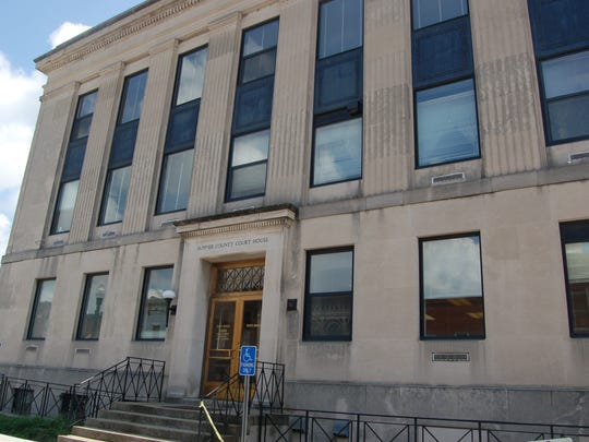 The Sumner County Courthouse has been treated for mold