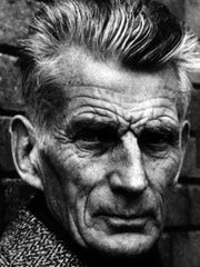 Playwright Samuel Beckett, shown in an undated portrait.