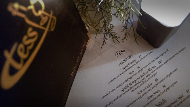 Tess, 2499 N. Bartlett Ave., has launched a bar-bites menu for quick meals, supplementing the regular dinner menu.
