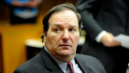Robert Bashara  in Frank Murphy Hall of Justice in Detroit on Wednesday. After 10 weeks, 74 witnesses and 460 exhibits, Bashara's murder-for-hire trial in the death of his wife Jane Bashara has entered the stretch run, with closing arguments Wednesday. The jury is expected to begin deliberating today.