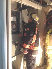 Marco Island Fire-Rescue responding to a call of smoke