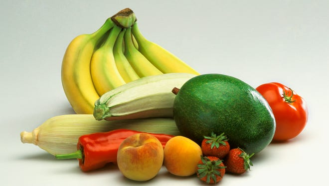 Aim for five servings of fruits and vegetables a day.