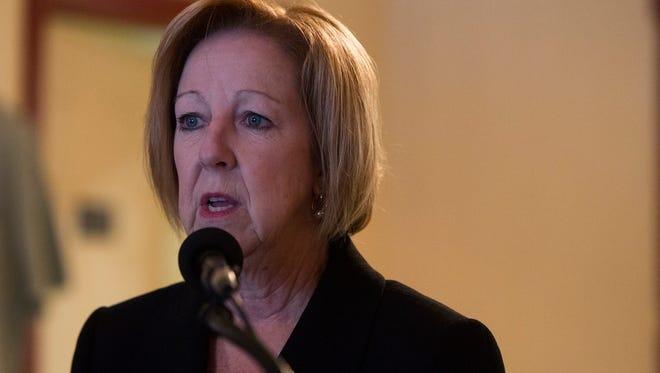 County Executive Maggie Brooks.
