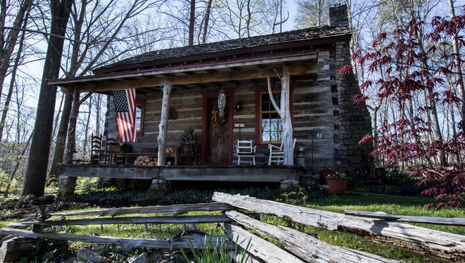 The Donelson's Captain's Cabin is complete with one bedroom, one bath, a living room and kitchen. April 14, 2016.